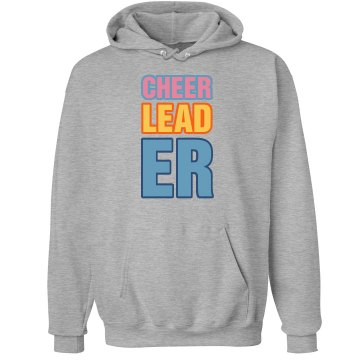 Cheerleader Hoodie Unisex Hanes Ultimate Cotton Heavyweight Hoodie