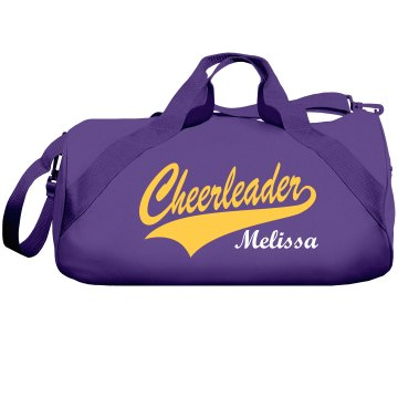 Cheerleader Melissa Liberty Bags Barrel Duffel Bag