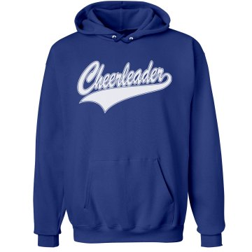 Cheerleader With Name Unisex Hanes Ultimate Cotton Heavyweight Hoodie
