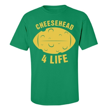 Cheesehead 4 Life Unisex Port & Company Essential Tee