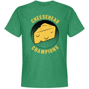 Cheesehead Champions Unisex Anvil Lightweight Fashion Tee