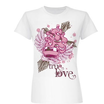 Christian Love Junior Fit Basic Bella Favorite Tee