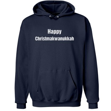 Christmakwanukkah Unisex Hanes Ultimate Cotton Heavyweight Hoodie
