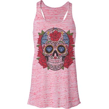Cinco De Mayo Fashion Tee Bella Flowy Lightweight Racerback Tank Top