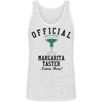 Cinco De Mayo Margarita Unisex Canvas Jersey Tank Top