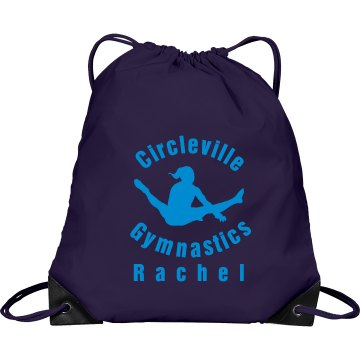 Circleville Gymnastics Port & Company Drawstring Cinch Bag