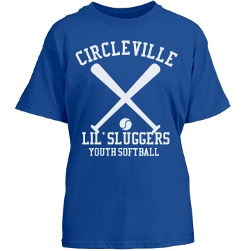 Circleville Softball T Youth Port & Company Essential Tee