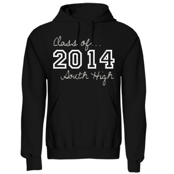 Class of 2014 Seniors Unisex Gildan Heavy Blend Hoodie