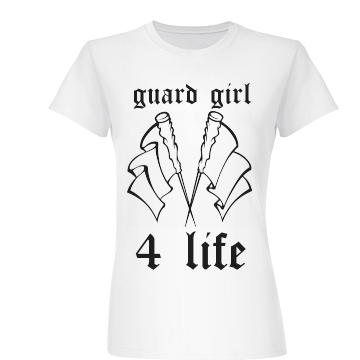 Color Guard For Life Junior Fit Basic Bella Favorite Tee