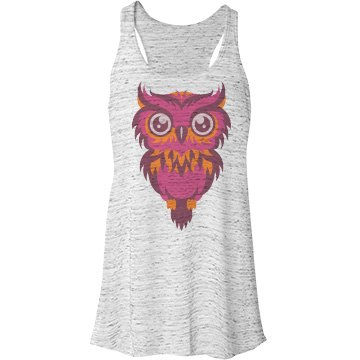 Colorful Owl  Bella Flowy Lightwe