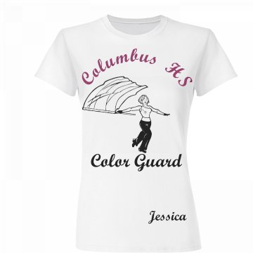 Columbus HS Color Guard
