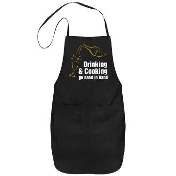 Cooking Saying Apron