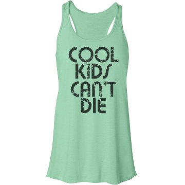 Cool Kids Bella Flowy Lightweight Racerback Tank Top