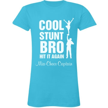 Cool Stunt Bro Junior Fit LA T Fine J