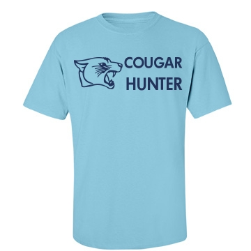 Cougar Hunter Unisex Gildan Heavy Cotton Crew Neck Tee