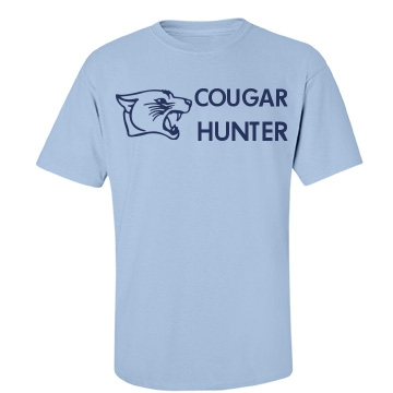 Cougar Hunter Unisex Port & Company Essential Tee