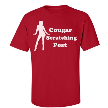 Cougar Scratching Post Unisex Port