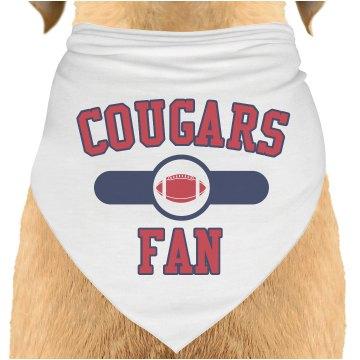 Cougars Fan Pet Bandana