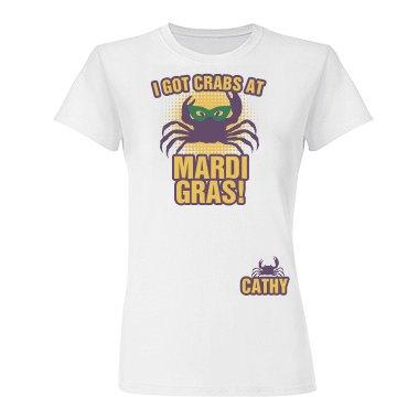 Crabs at Mardi Gras
