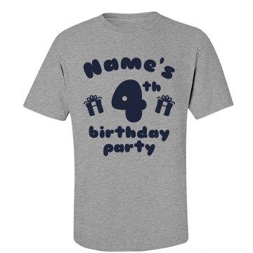 Craig's 4th Birthday
