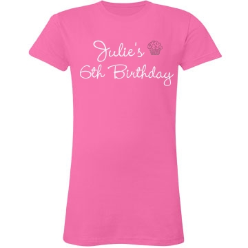 Cupcake Birthday Tee