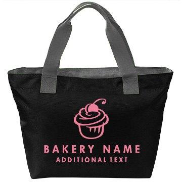 Custom Bakery Cupcake Bag