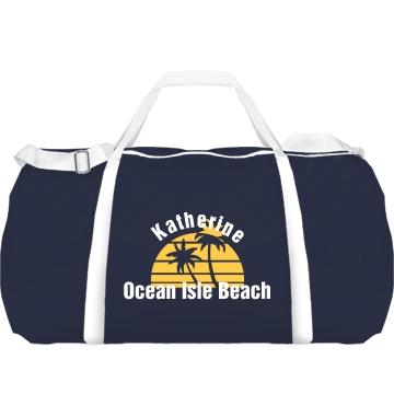 Custom Beach Duffle Augus