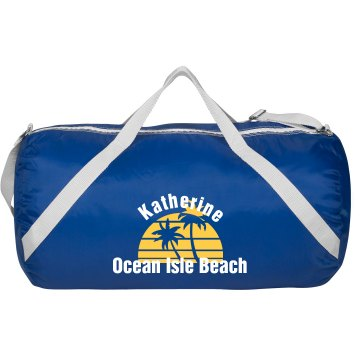 Custom Beach Duffle