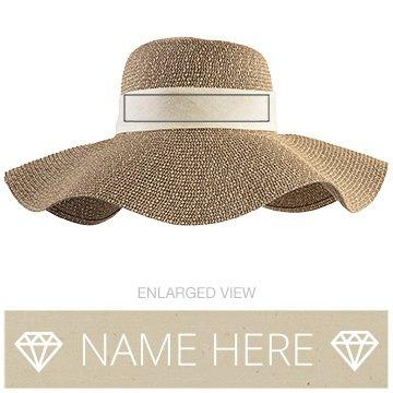 Custom Beach Sun Hat