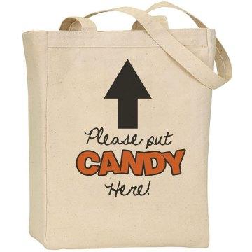 Custom Candy Bag