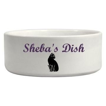Custom Cat Bowl