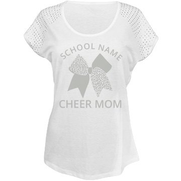 Custom Cheer Mom Bling