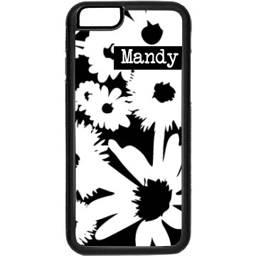 Custom Floral iPhone Case