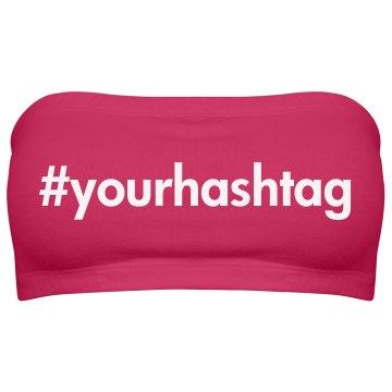 Custom Hashtag Design