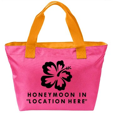 Custom Honeymoon Bag