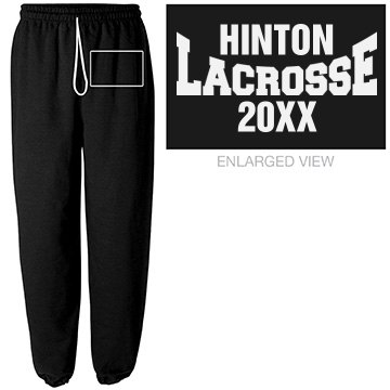 Custom Lacrosse Sweats For Teams