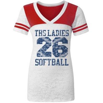 Custom Ladies Softball