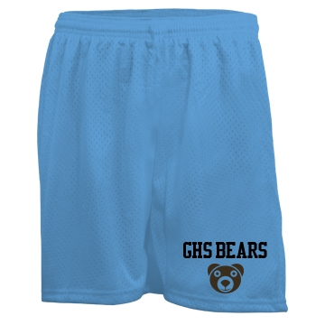 Custom Mesh Shorts Ladies Badger 5'' Inseam Pro Mesh Tricot Shorts