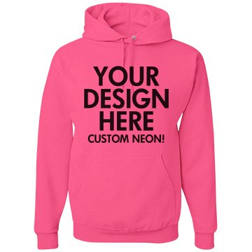 Custom Neon Hoodies