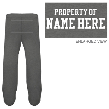 Custom Property Of Him Sweats