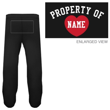 Custom Property Of Sweatpants