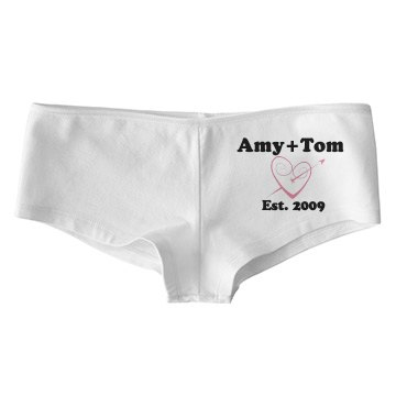 Custom Romance Undies