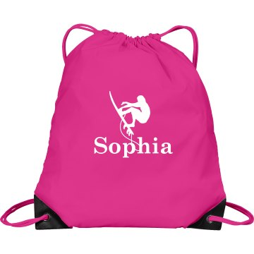 Custom Sophia Surf Bag Port & Company Dra