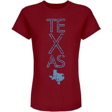 Custom Texas Text