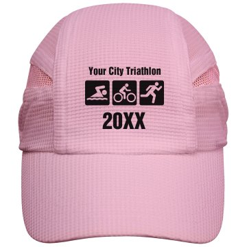 Custom Triathlon Cap