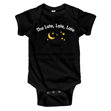 Custom TV Baby One Piece