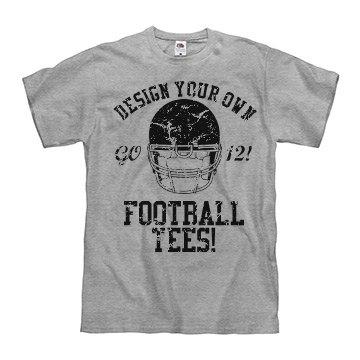 Custom Vintage Football
