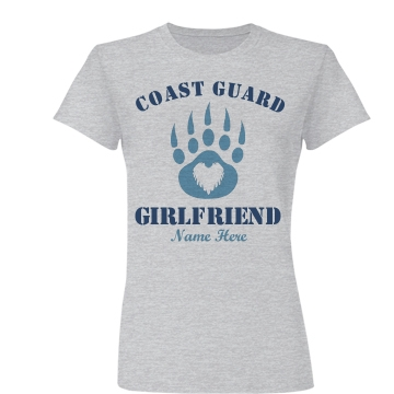 Cute Coast Guard Girl Junior Fit Basic Bella Favorite Tee