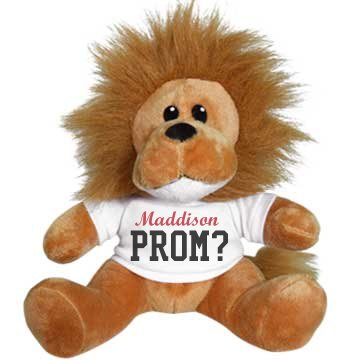 Cute Prom Lion Animal