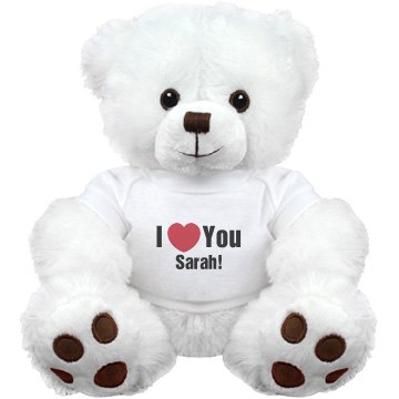Cutom I Heart You Teddy Bears